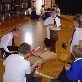 Year 5 and 6 orchestra October 2011