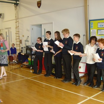 Gryphon school assembly June 2012