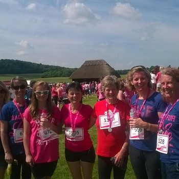 Staff Race for Life - June 2014