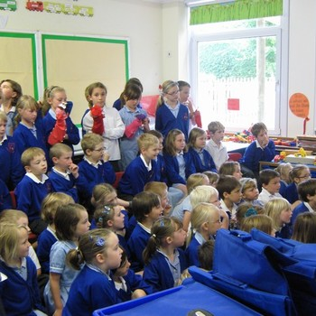 Class 3 do Punch and Judy! July 2011