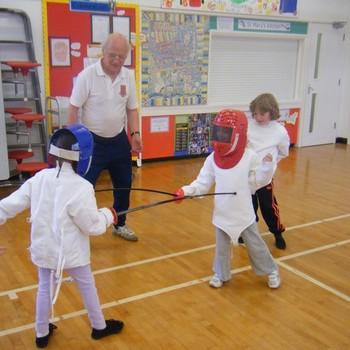 St Mary's Primary mini Olympics June 2012