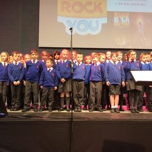 Sherborne area schools' rock concert...
