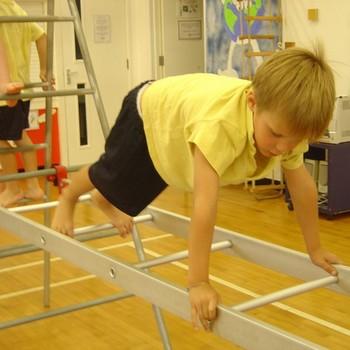 Underdown Hollow class gymnastics - September 2013