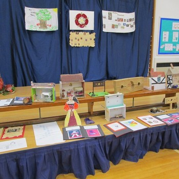 Class 4 and 5 learning exhibition December 2012