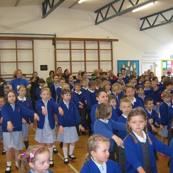 Churchwell class sharing assembly April 2014