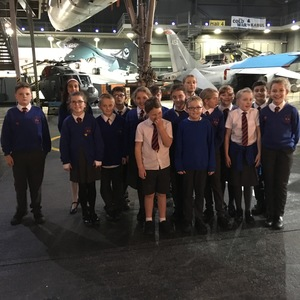 Year 6 visited the Fleet Air Arm Museum...
