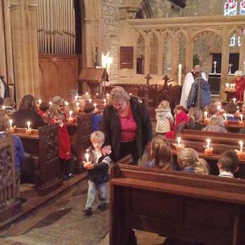 Christingle Service - Christmas 2011