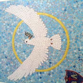 Natalie Guy mosaic project September 2013