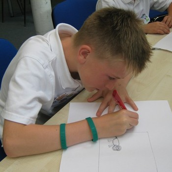 Creative writing workshop at The Gryphon July 2011