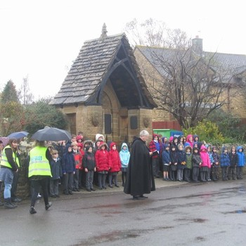 Remembrance Service - November 2014
