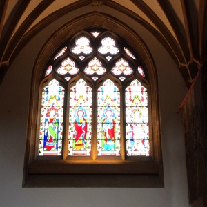 Explorng stained glass windows ...